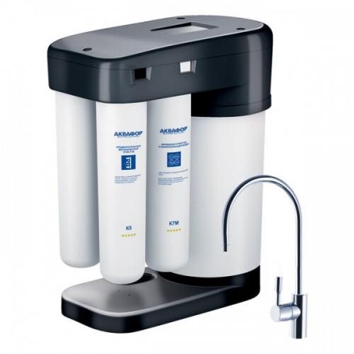 Фильтр для воды Аквафор DWM-102S Black Edition