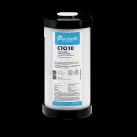 """Картридж со спрессованным активированным углем Ecosoft 10"""" CНVСВ4510ECO"""