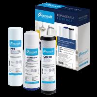 Комплект картриджей Ecosoft для тройных фильтров CMV3ECO