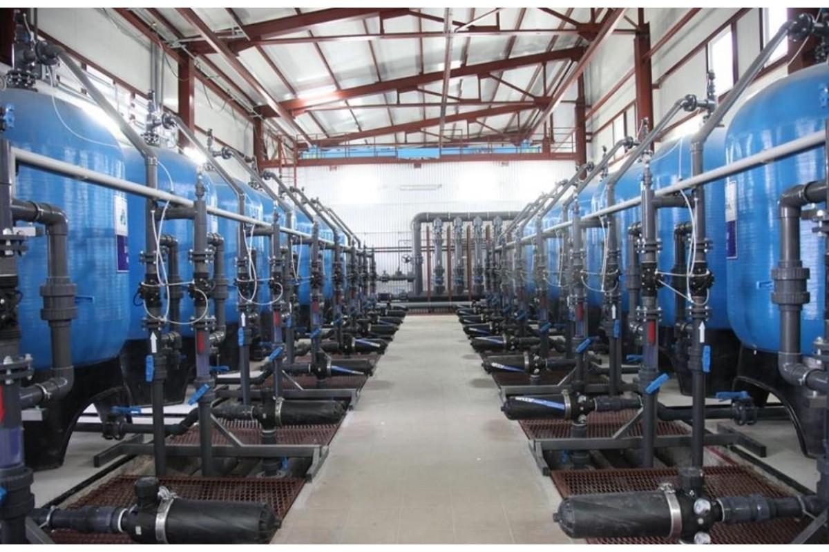 Водоподготовка завода при помощи оборудования